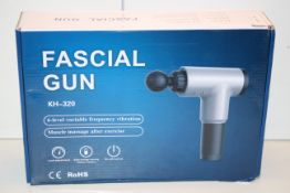 BOXED FASCIAL GUN MASSAGER MODEL:N KH-320 RRP £29.99Condition ReportAppraisal Available on