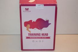 BOXED NEVERLAND BEAUTY & HEALTH TRAIN ING HEAD MABNNEQUIN HEAD RRP £18.99Condition ReportAppraisal