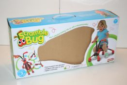 BOXED SCRAMBLEB BUG 4 WHEELED RIDE ON SCOOTER Condition ReportAppraisal Available on Request- All