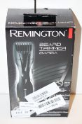 BOXED REMINGTON BEARD TRIMMER BARBA RRP £54.99Condition ReportAppraisal Available on Request- All