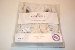 BAGGED WARMIES FULLY MICROWAVEABLE SLIPPERS SOOTHING WARMTH & COMFORT Condition ReportAppraisal