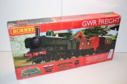 BOXED HORNBY 00 GAUGE GWR FREIGHT TRAIN RRP £34.99Condition ReportAppraisal Available on Request-