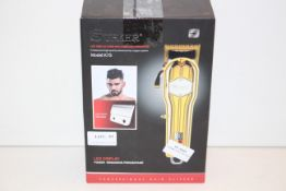 BOXED SURKER PROFESSIONAL HIGH QUALITY ADVANCED HAIR CLIPPER SYSTEM MODEL: K7S RRP £60.64Condition