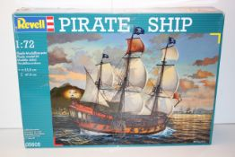 BOXED REVELL PIRATE SHIP 1:72 SCALE RRP £94.95Condition ReportAppraisal Available on Request- All