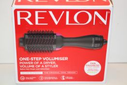 BOXED REVLON SALON ONE-STEP HAIR DRYER AND VOLUMISER RRP £52.50Condition ReportAppraisal Available