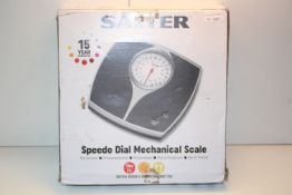BOXED SALTER SPEEDO DIAL MECHANICAL SCALE RRP £20.00Condition ReportAppraisal Available on