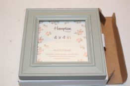BOXED 4X4 SAGE PICTURE FRAME (IMAGE DEPICTS STOCK)Condition ReportAppraisal Available on Request-