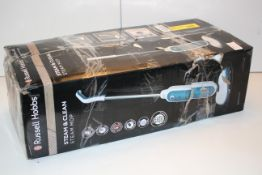 BOXED RUSSELL HOBBS STEAM & CLEAN STEAM MOP RRP £59.99Condition ReportAppraisal Available on