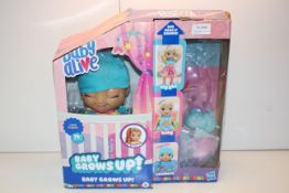 BOXED BABY ALIVE - BABY GROWS UP! RRP £49.50Condition ReportAppraisal Available on Request- All