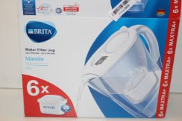 BOXED BRITA MARELLA WATER FILTER JUG 2.4L RRP £29.99Condition ReportAppraisal Available on