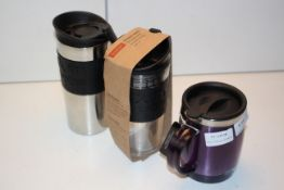 3X ASSORTED CUPS BY BODUM & THERMOCAFE (IMAGE DEPICTS STOCK)Condition ReportAppraisal Available on