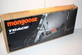 BOXED MONGOOSE TRACE 180 SCOOTER RRP £74.91Condition ReportAppraisal Available on Request- All Items