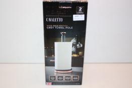 BOXED TOWER CAVALETTO ROSE GOLD EDITION GREY TOWEL POLE Condition ReportAppraisal Available on