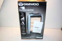 BOXED DAEWOO 1200W HALOGEN HEATER RRP £23.49Condition ReportAppraisal Available on Request- All