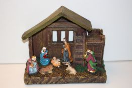 BOXED NATIVITY SCENE (IMAGE DEPICTS STOCK)Condition ReportAppraisal Available on Request- All