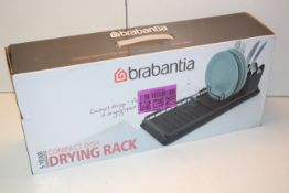 BOXED BRABANTIA COMPACT DISH DRYING RACK RRP £19.99Condition ReportAppraisal Available on Request-
