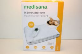 BOXED MEDISANA HEATED UNDERBLANKET HU665 RRP £39.99Condition ReportAppraisal Available on Request-