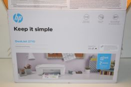 BOXED HP DESKJET 2710 HOME PRINTER RRP £69.99Condition ReportAppraisal Available on Request- All