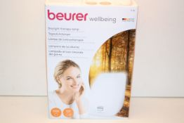BOXED BEURER WELLBEING DAYLIGHT THERAPY LAMP MODEL: TL41 RRP £59.99Condition ReportAppraisal