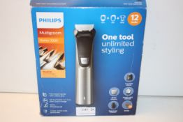 BOXED PHILIPS MULTIGROOM SERIES 7000 DUAL CUT RRP £59.95Condition ReportAppraisal Available on