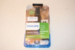 BOXED PHILIPS SERIES 1000 BODYGROOM RRP £24.99Condition ReportAppraisal Available on Request- All