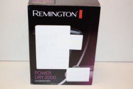 BOXED REMINGTON POWER DRY 2000 HAIUR DRYER RRP £14.99Condition ReportAppraisal Available on Request-