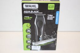 BOXED WAHL AQUA BLADE WET/DRY STUBBLE & BEARD TRIMMER RRP £89.99Condition ReportAppraisal