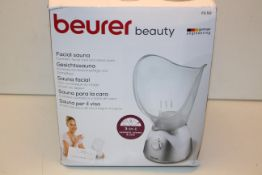 BOXED BEURER BEAUTY FACIAL SAUNA FS50 RRP £36.99Condition ReportAppraisal Available on Request-