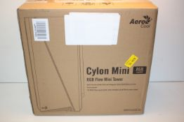 BOXED AEROCOOL CYLON MINI RGB FLOW MINI TOWERCondition ReportAppraisal Available on Request- All