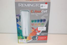BOXED REMINGTON COLOUR CUT HAIR CLIPPER KIT RRP £29.99Condition ReportAppraisal Available on