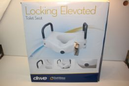 BOXED DRIVE LOCKING ELEVATED TOILET SEAT RRP £27.89Condition ReportAppraisal Available on Request-