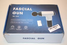 BOXED FASCIAL GUN MASSAGE DEVICE MODEL: SK-320 RRP £59.99Condition ReportAppraisal Available on