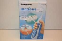 BOXED PANASONIC DENTACARE EW1211 W RECHARGEABLE ORAL IRRIGATOR RRP £79.00Condition ReportAppraisal