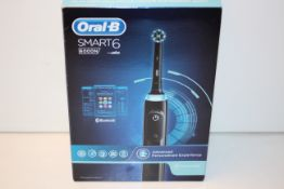 BOXED ORAL B SMART 6 POWERED BY BRAUN 6000N TOOTHBRUSH RRP £129.00Condition ReportAppraisal