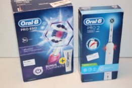 2X ASSORTED BOXED ORAL B TOOTHBRUSHES COMBINED RRP £90.00Condition ReportAppraisal Available on