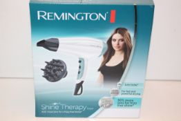 BOXED REMINGTON SHINE THERAPY DRYER RRP £39.99Condition ReportAppraisal Available on Request- All