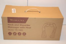 BOXED RIDUCNA NECK AND SHOULDER MASSAGER WITH HEAT MODEL: TR-188SCondition ReportAppraisal Available