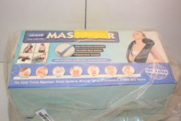 BOXED NICWELL MASSAGER Condition ReportAppraisal Available on Request- All Items are Unchecked/