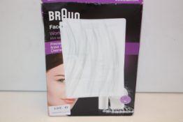BOXED BRAUN FACESPA MINI EPILATOR & CLEANSER MODEL: FACE 810 RRP £49.99Condition ReportAppraisal