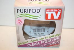 4X BOXED PURIPOD - AS SEEN ON TV - SILENT IONIC AIR PURIFIER COMBINED RRP £44.00Condition