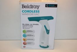 BOXED BELDRAY CORDLESS WINDOW VAC RRP £24.99Condition ReportAppraisal Available on Request- All