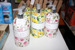 7X ASSORTED BAYLISS & HARDING LUXURY HAND SOAPS COMBINED RRP £15.00Condition ReportAppraisal