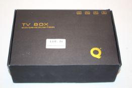 BOXED TV BOX 4X CPU CORTEX-A53 GPU MALI-T720MP2 RRP £49.99Condition ReportAppraisal Available on