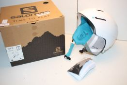 BOXED SALOMON ICON 2 M WHITE SIZE SMALL 53-56CM RRP £53.99Condition ReportAppraisal Available on