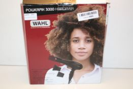 BOXED WAHL POWERPIK 3000 HAIR DRYER Condition ReportAppraisal Available on Request- All Items are