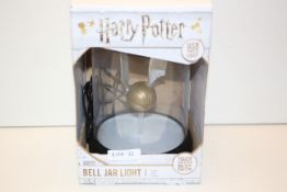 BOXED HARRY POTTER BELL JAR LIGHT RRP £29.99Condition ReportAppraisal Available on Request- All