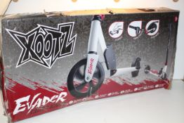 BOXED XOOTZ EVADER ELECTRIC SCOOTER RRP £199.98Condition ReportAppraisal Available on Request- All