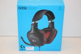 BOXED LOGITECH G332 STEREO GAMING HEADSET RRP £36.50Condition ReportAppraisal Available on