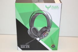 BOXED BLADE HAWKS GAMING NEW FORCE GAMING HEADSET GH-05 RRP £27.99Condition ReportAppraisal