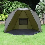 BAGGED QUEST SHELTER MK3 CARP FISHING BIVVY RRP £69.99Condition ReportAppraisal Available on